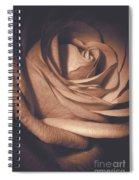 Pink Rose Petals 0219 Spiral Notebook