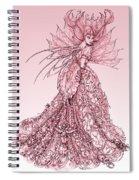 Pink Sussurus Spiral Notebook