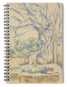 Pistachio Tree At Chateau Noir Spiral Notebook