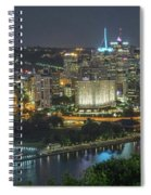 Pittsburgh Lights Spiral Notebook