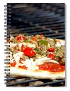 Pizza On The Grill Spiral Notebook