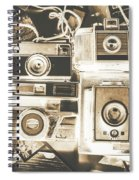 Placed In The Dark Room Spiral Notebook
