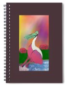 Platypus Duck Spiral Notebook
