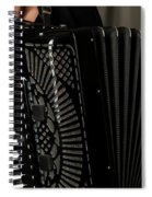 Play The Accordion Spiral Notebook