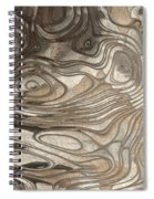 Playing In The Sand Spiral Notebook