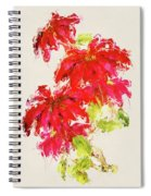 Poinsettia Spiral Notebook
