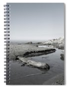 Point Arena Beach California Spiral Notebook