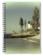 Point Betsie Lighthouse 2 Spiral Notebook
