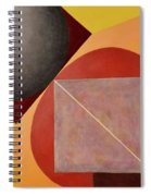 Point Line And Plane Spiral Notebook