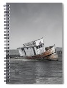 Point Reyes California Shipwreck Spiral Notebook