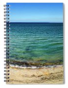 Pointe Du Hoc Panorama Spiral Notebook