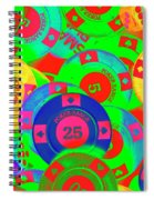 Poker Stacks Spiral Notebook