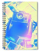 Polarised Pop Art Spiral Notebook