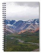 Polychrome Pass In Denali National Park Spiral Notebook