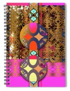 Pompoms At The Gate Spiral Notebook