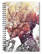 Pondering Fall Spiral Notebook