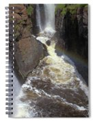 Pool At The Falls  Spiral Notebook