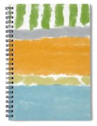 Poolside 1- Art By Linda Woods Spiral Notebook