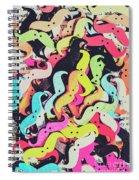 Pop Art Moes Spiral Notebook