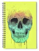 Pop Art Skull Spiral Notebook