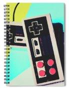 Pop Artcade Spiral Notebook