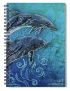Porpoise Pair - Close Up Spiral Notebook