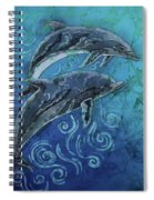 Porpoise Pair Spiral Notebook