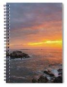 Portland Head Lighthouse Sunshine  Spiral Notebook