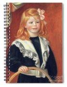 Portrait De Jean Renoir Spiral Notebook