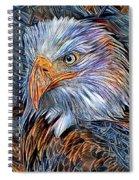 Portrait Of A Watchful Eye Spiral Notebook