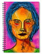 Portrait Of A Woman 1139 Spiral Notebook