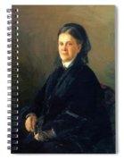 Portrait Of Anna Olsufyeva Spiral Notebook