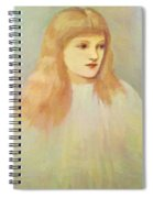 Portrait Of Cecily Horner Spiral Notebook
