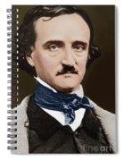Portrait Of Edgar Allan Poe, Circa 1849 Spiral Notebook