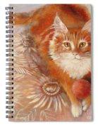 Portrait Of Fandorin Spiral Notebook