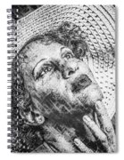 Portrait Of Kate Spiral Notebook