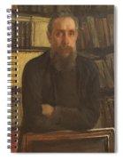 Portrait Of Kostichev Spiral Notebook