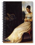 Portrait Of Laura Bro 1820 Spiral Notebook