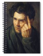 Portrait Of Lord Byron Spiral Notebook