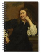 Portrait Of Lucas Fayd Herbe  Spiral Notebook