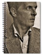 Portrait Of Ludwig Wittgenstein, 1947 Spiral Notebook