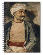 Portrait Of Mustapha Spiral Notebook
