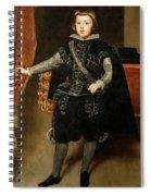 Portrait Of Philip Iv  Spiral Notebook