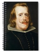 Portrait Of Philip Iv  King Of Spain  Spiral Notebook