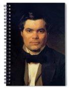 Portrait Of Yakov Merkulov Spiral Notebook