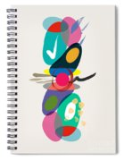Positive Colors Building Spiral Notebook