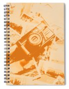 Posterised Photography Spiral Notebook