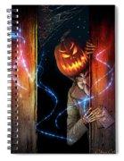 Posthumous Pumpkin Spiral Notebook