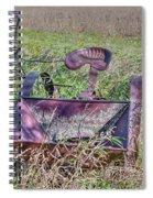 Potatoe Planter Spiral Notebook