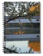 Potter's Bridge, Noblesville, Indiana Spiral Notebook